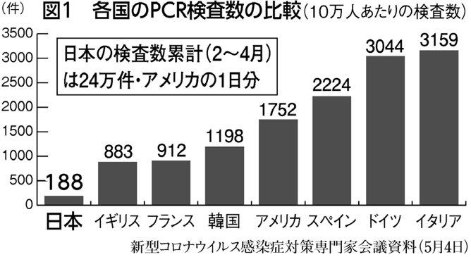 Pcr 日本 数 の 検査